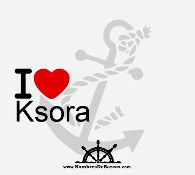 Ksora