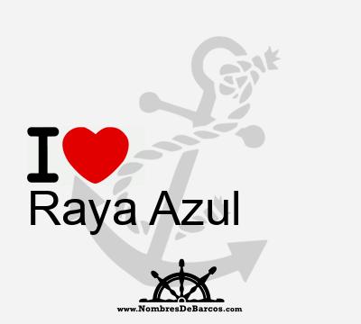 Raya Azul